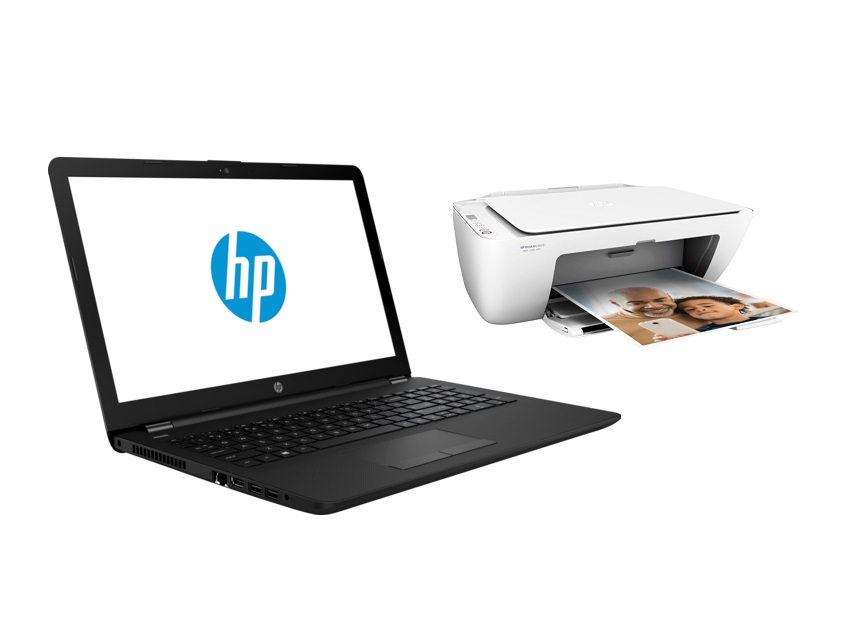 Bundle HP laptop 7WD32AA + HP printer 2620