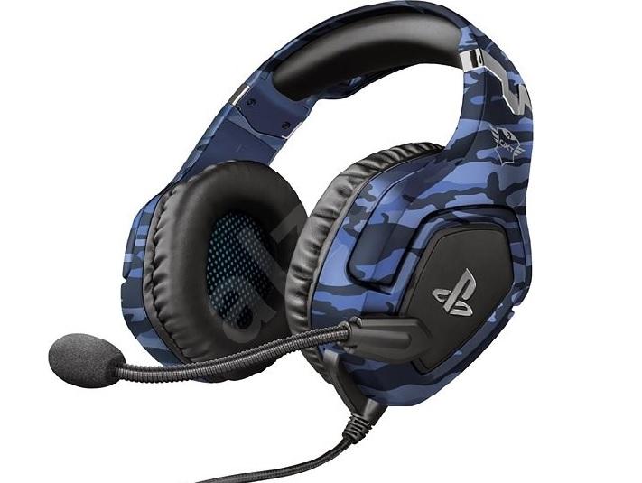 Slušalice Trust GTX 488 Forze-B PS4 gaming headset blue