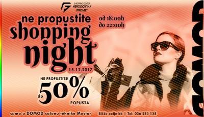 Večeras shopping night, sniženja i do 50% u Domodu!