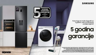 5 godina garancije Samsung